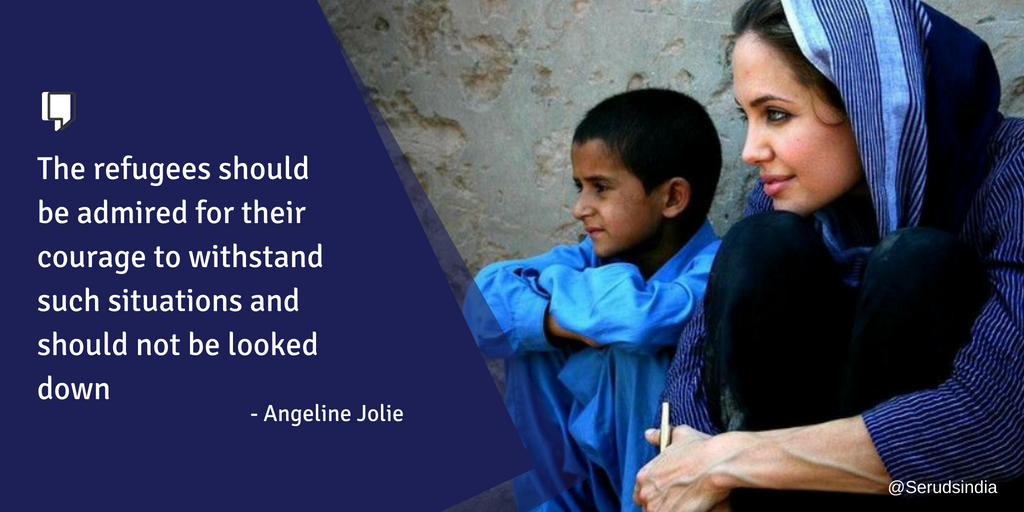 Charity Work by Angelina Jolie