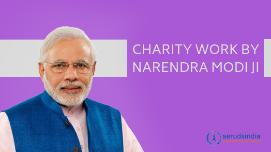 Narendra Modi Charity Work (1)