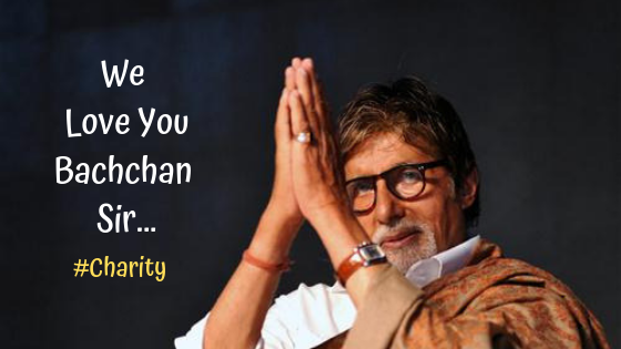 Amitabh Bachchan Charity Work Will Make You Fall in Love With Him