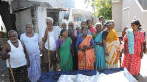 Donation of blankets and clothes to Elders at Kurnool