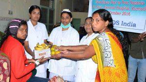 Fruits & Milk for Patients