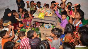 Snacks Distribution