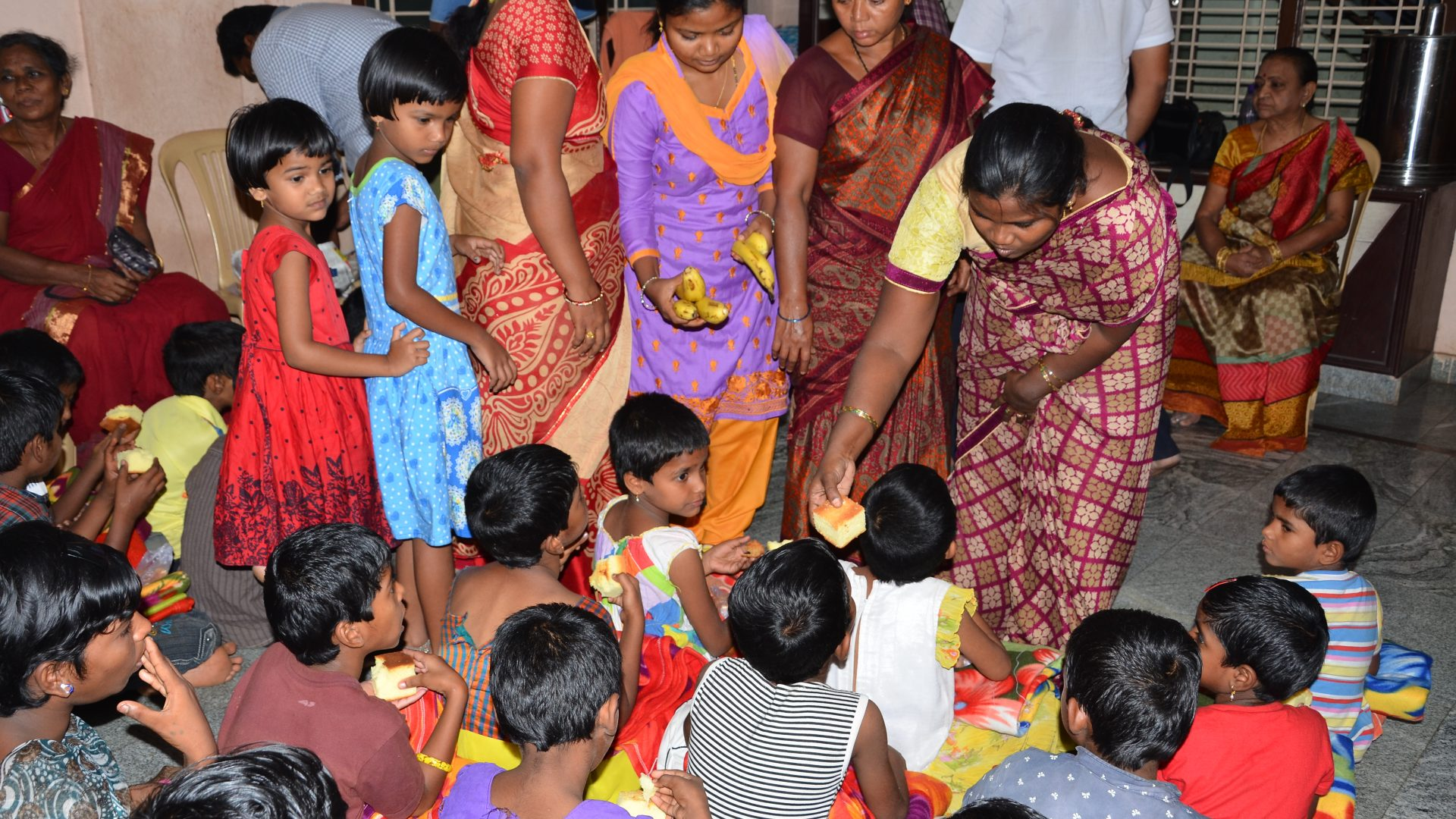 Seruds Sponsor Child Projects - sponsor food at creche and orphanage