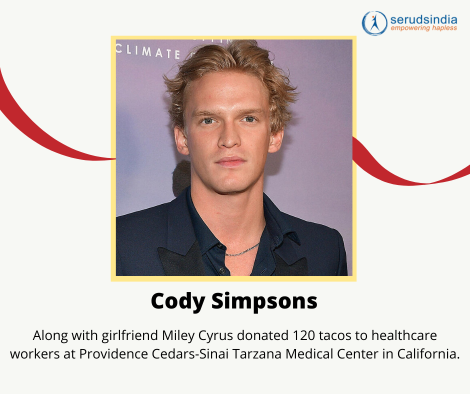 Cody Simpsons Donations to Coronavirus