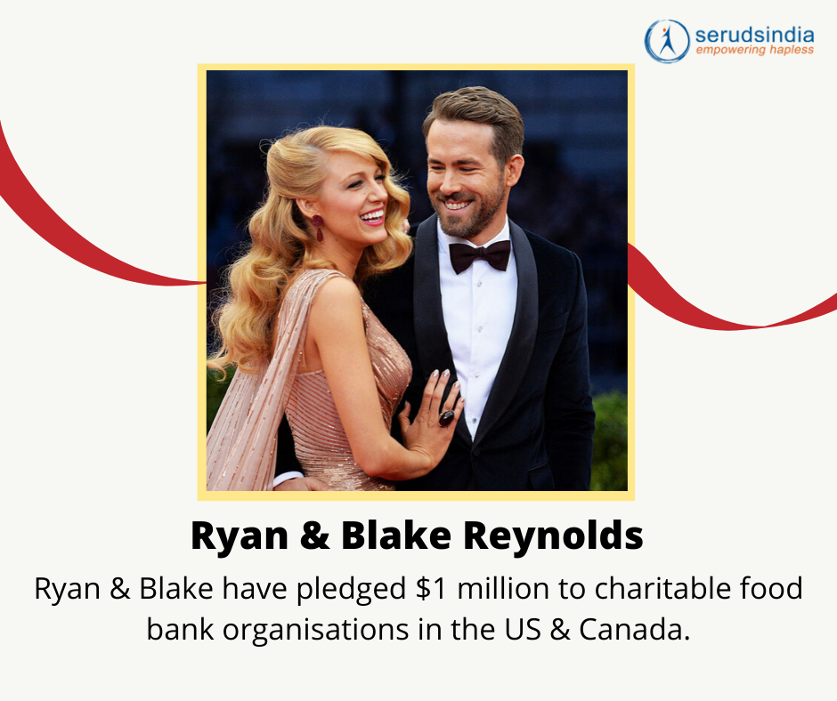 Ryan & Blake Reynolds Donations for Coronavirus