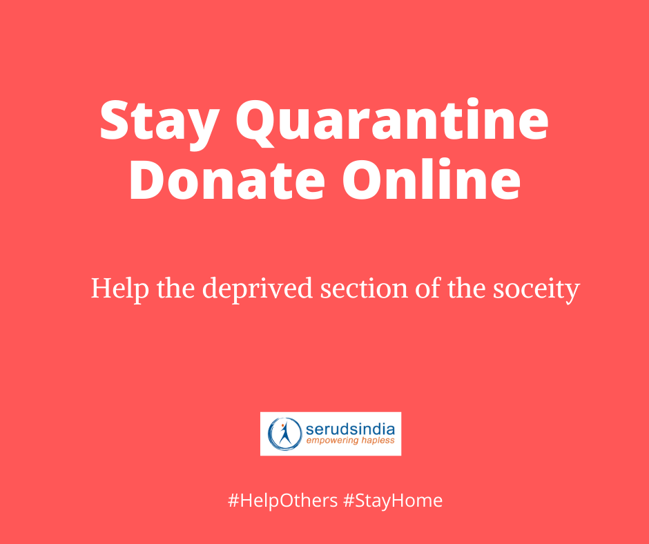 Stay Quarantine Donate Online India