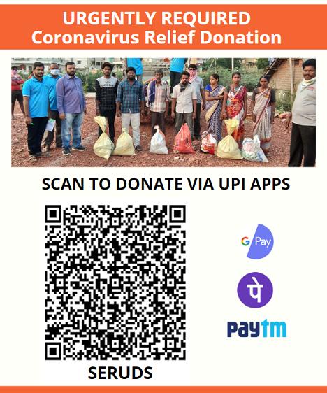 Seruds India - Covid 19 Donation for India